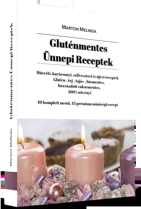 Gluténmentes Ünnepi Receptek e-book
